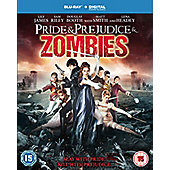 Pride & Prejudice & Zombies Blu-ray