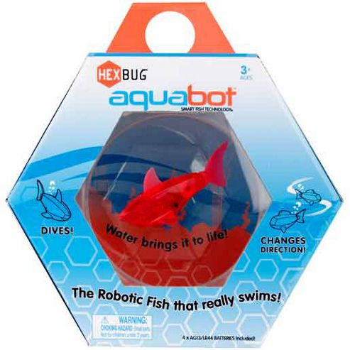 Hexbug Aquabot with bowl