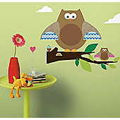 Owls - Large Wall Sticker
