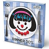 Dinner Do's Girl Plates - Set of 3