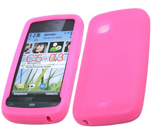 iTALKonline SoftSkin Silicone Case Pink