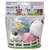 Munchkin Barn Yard Squirters Bath Toys