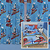 Thomas the Tank Engine Single Bedding Set and Matching Curtains 54s