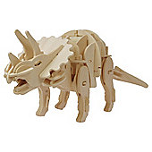 Green Board Game Co. Robotic Triceratops Wooden Craft Kit