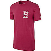 2014-15 England Nike Covert Tee (Red) - Red