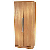 Welcome Furniture Sherwood Tall Plain Wardrobe - English Oak