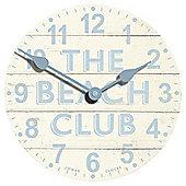 Jones & Co Beach Club Wall Clock