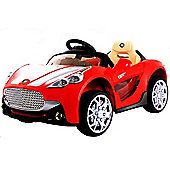 Kids Maserati Style Ride On Car With Remote Control - Red
