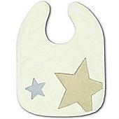 Baby Boum Melow Star 37cm Bib (Ecru)