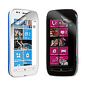 Works With Screen Protector Twin Pack for Nokia Lumia 710 - Clear