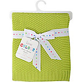 Love Colour Cotton Blanket (Lime)