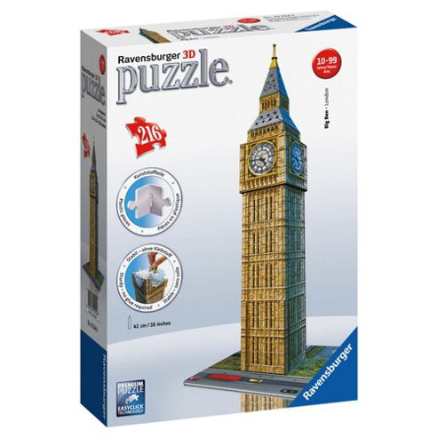 Ravensburger Big Ben 216pc 3D Puzzle
