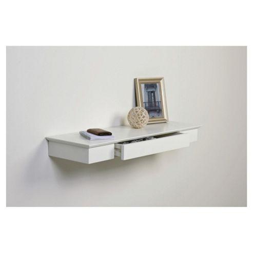 Floating White Shelf White Floating Shelf With