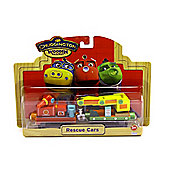 Chuggington - Wooden Railway - Rescue Cars - Learning Curve