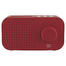Tesco DR1403R DAB Radio Red