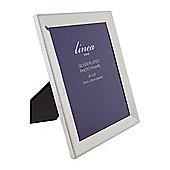 Linea Beaded Edge Silver Plated Frame 8X10