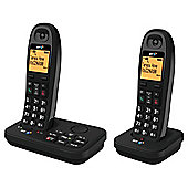 BT 3920 Cordless Twin Phone with Answer Machine - Black