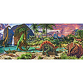 In The Land of The Dinosaurs XXL200 Panorama Puzzle