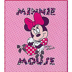 Minnie Mouse Extra Large Fleece