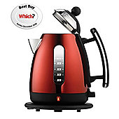 Dualit 72556 1.5L Jug Kettle in Metallic Red