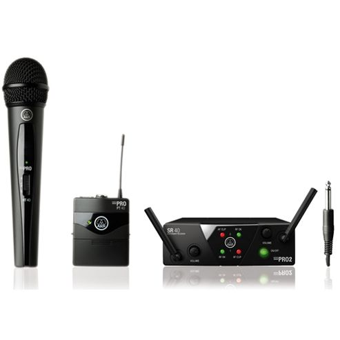 AKG WMS40 Mini 2 Mix Set Wireless System ISM2/3
