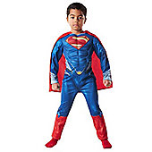 Superman Man of Steel Muscle Chest Fancy Dress