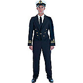 WW2 Naval Office - Adult Costume Size: 48-50