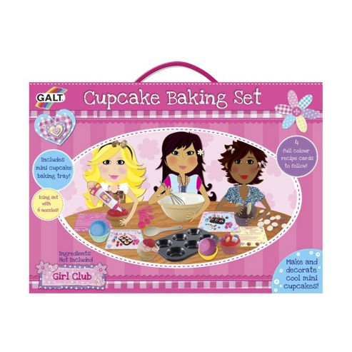 Girl Club - Cupcake Baking Set - Galt