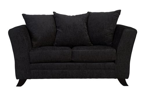 Buy Ella Two Seater Sofa Black From Our Fabric Sofas