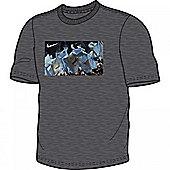 2013-14 Man City Nike Core Plus T-Shirt (Grey) - Grey
