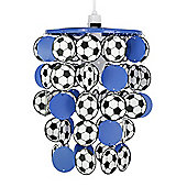 Football Ceiling Pendant Light Shade in Blue
