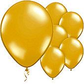 Glamorous Gold Balloons - 11' Latex Balloon (50pk)