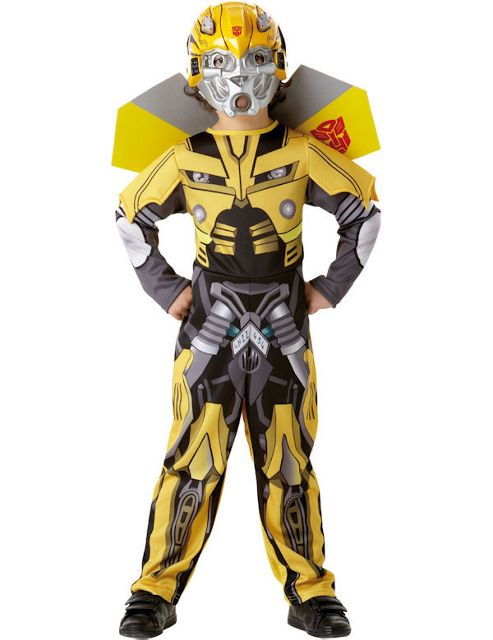 Child Deluxe Bumble Bee Transformers Costume Small