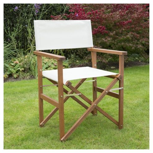 Buy Wooden Folding Director S Chair Cream From Our Garden