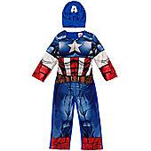 Marvel Marvel Captain America Dress Up 3-4 years