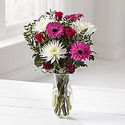 Pink Gerbera Flower Bouquet