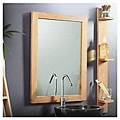 Tikamoon Bahia Solo Teak Mirror