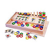 Tidlo Balloons And Rings Puzzle Multi Activity Game