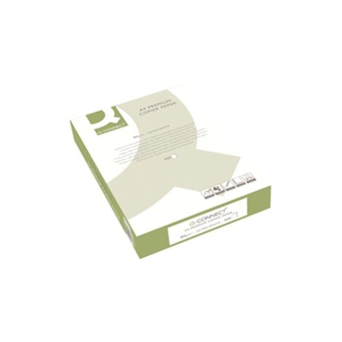 Q-Connect Premium Copier/Laser Paper A3 80gsm White Ream KF01425 1 Pack