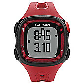 Garmin Forerunner 15 Running Watch Red/Black with Heart Rate Monitor