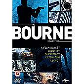 Bourne 1-4 (DVD & UV Boxset)