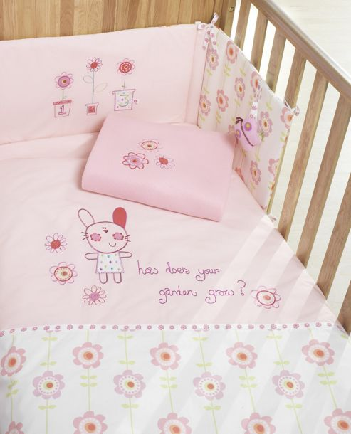 Lollipop Lane Upsy Daisy Four Piece Bedding Bale
