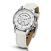 Kennett Savro Ladies Leather 24 hour, Chronograph Watch LWSAVWHSILWH