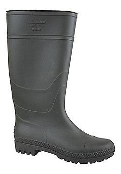 Splash Mens Wellington Boots Waterproof Soft Lined Festival Wellies DD - Green