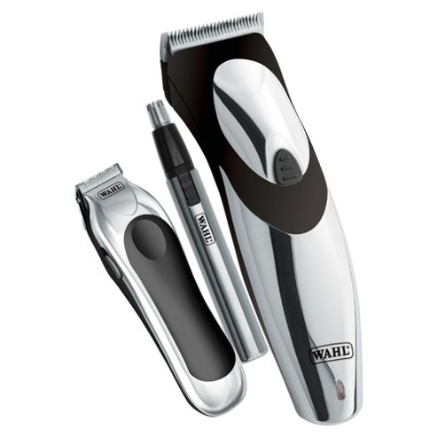 WAHL Deluxe Clip N Rinse Chrome all in one trimmer
