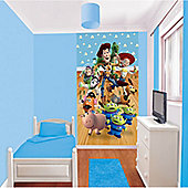 Toy Story Wallpaper Mural Poster, 8ft x 5ft