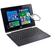 "Acer Aspire Switch 10.1"" Intel Atom Windows 10 2GB RAM Convertible Purple"