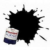 Humbrol Acrylic - 14ml - Matt - No33 - Black