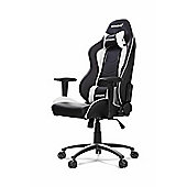 AK Racing Nitro Gaming Chair White Perfect for office workers and gamers GAZU-224