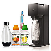 SodaStream Flavoured Sparkling Water Megapack Black